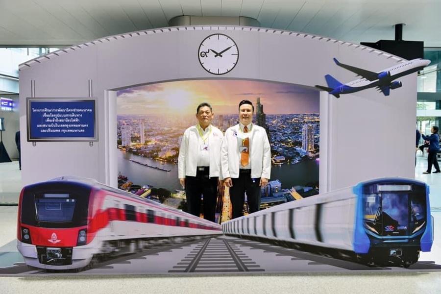 กทพ.ร่วมทดลองเดินรถเสมือนจริงโครงการระบบรถไฟชานเมือง(สายสีแดง)ช่วงบางซื่อ-รังสิต